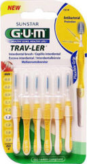 Gum Trav-ler Ragers - Interdentale Borstels 1.3mm Geel