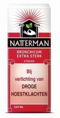 Natterman Bronchicum Stroop Extra Sterk 100ml