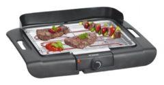 Bomann BQ 2243 CB 2000 W Barbecue Electrisch Tafelblad Zwart