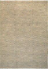 KILAMY - Katoenen vloerkleed - 80x150cm - Beige / Bruin