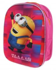 Minions Rugzak Paars/roze 11 Liter