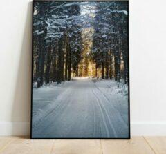 Label2X Poster winterglow A4 - A4