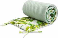 Sensillo bedbumper - bed zijbeschermers - anti stootrand eucalyptus