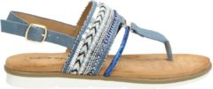 Dolcis dames sandaal - Blauw - Maat 40
