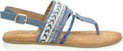 Dolcis dames sandaal - Blauw - Maat 40