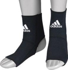 Witte Adidas Enkelbeschermer Anti-Slip Zwart Large