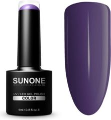 SUNONE UV/LED Hybrid Gel Paarse Nagellak 5ml. - F13 Francis