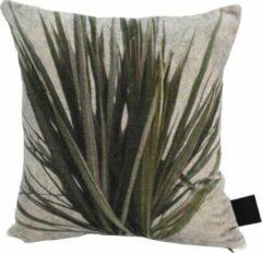 PTMD Grass Vierkant Kussen - 45 x 5 x 45 cm - Katoen - Groen
