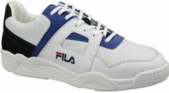 Blauwe Fila Cedar CB Low 1010516-01U, Mannen, Wit, Sneakers maat: 45 EU