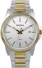 Prisma Heren Edelstaal 5 ATM horloge P.1697