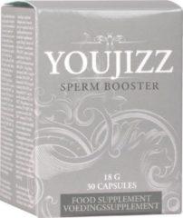 Shots Toys Shots Pharmquests erectie formule Youjizz Spermbooster - 30 Capsules wit,grijs