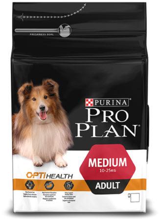 Afbeelding van Pro Plan Medium Adult OptiBalance - Rijk aan Kip - Hondenvoer - 3 kg