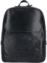 The Bridge Williamsburg Rucksack 1407 Nero/Nickel (innen: Grau)
