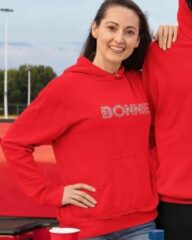 Rode B&C Collection Bonnie & Clyde Hoodie Red (Bonnie - Maat S)