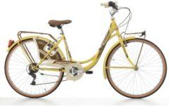 Cicli Cinzia 26 Zoll Damen City Fahrrad Cinzia Decoville 6... pastellgelb