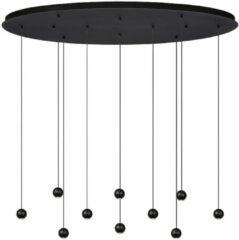 Atmooz Hanglamp Balls 10 | zwart | ovaal