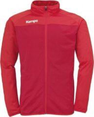 Kempa Prime Poly Jacket Chili Rood-Rood Maat 2XL