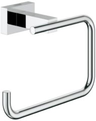 Grohe Essentials Cube closetrolhouder, messing, chroom, (lxhxd) 138x98x60mm