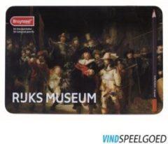 Royal Talens Bruynzeel Hollandse Meesters blik 50 kleurpotloden - De Nachtwacht van Rembrandt