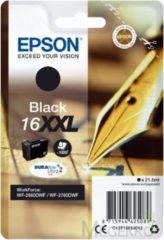 Zwarte EPSON 16XXL inktcartridge zwart extra high capacity 1.000 paginas 1-pack blister met alarm