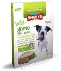 Smolke vers gestoomd wild graanvrij hondenvoer 395 gr