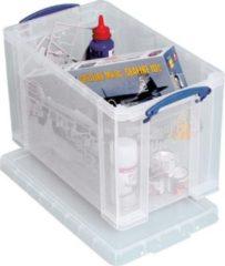 Really Useful Box opbergdoos 24 liter, transparant