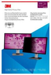 3M Blickschutzfilter High Clarity für 21,5'' Breitbild-Monitor - Bildschirmfilter - 54,6 cm Breitbild (21,5'' Breitbild) 7100136295
