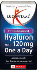 Lucovitaal Hyaluronzuur 120 mg One a Day Voedingssupplement - 30 capsules