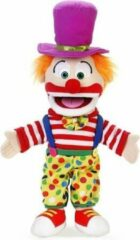 Paarse Handpop Clown Sillypuppets 15''