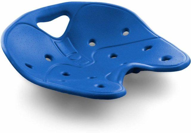Afbeelding van Backjoy SitSmart Core Blauw - Rugsteun Zithouding Bureaustoel Auto - Rugpijn Onderrug