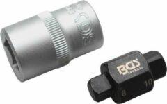 BGS technic Olie aftapschroeven dopsleutel | vierkant | 8 mm / 10 mm