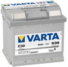 Varta SILVER Dynamic 554 400 053 3162 C30 12Volt 54 Ah 530A/EN Start Accu 4016987119730