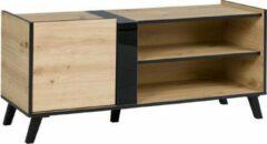 AZ-Home - Tv meubel Flix - Tv Kast - Eiken/Zwart - 120 cm
