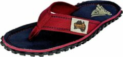Gumbies | Teenslippers Dames | Navy Coast | Blauw/Rood | Maat 39