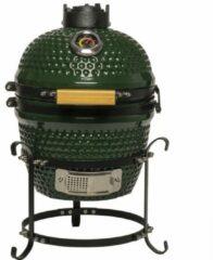 "Patton Kamado Keramische Houtskoolbarbecue - 13"" - Groen"