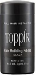 Haargroei vezels - Toppik Hair Building Fibers Travel 3 gram - Zwart