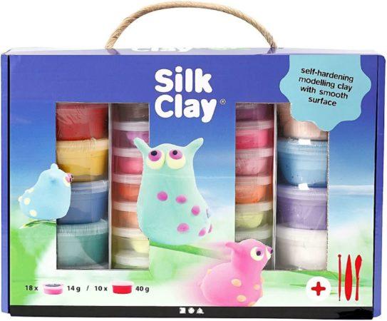 Afbeelding van Silk Clay Kleiset 18 X 14 Gram / 10 X 40 Gram 31-delig