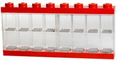 Rode Lego Opbergbox : Minifigures Rood 16-delig (40660001)