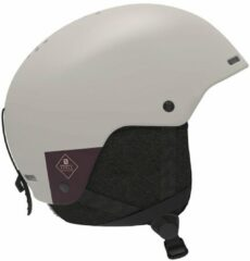 Beige Salomon Spell Helmet bruin