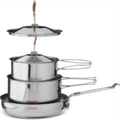 Zilveren Primus CampFire Campingservies en keukenuitrusting Stainless Steel Small zilver