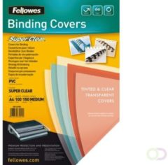 Fellowes 5376001 A4 PVC Transparant 100stuk(s) binding cover