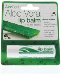 Optima Aloe dent aloe vera lippenbalsem stick 4 Gram