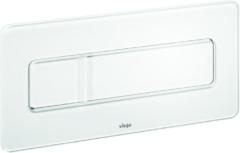 Witte Viega Visign for more bedieningsplaat wit glas-verkeerswit 758820