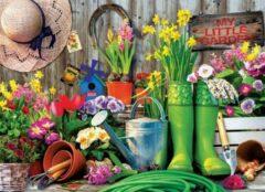 Eurograph Puzzel 1000 stukjes - Garden tools