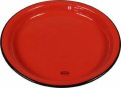 CABANAZ - bord, keramiek, MEDIUM PLATE, rood