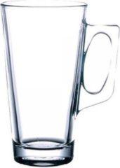 Transparante Cocktailspullen.nl Vela Cafe Latte Glas - 38cl