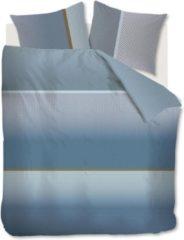 Blauwe Kardol & Verstraten Kardol Alluring Dekbedovertrek - 2-persoons (200x200/220 Cm + 2 Slopen) - Katoen Satijn - Blue Green