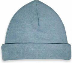 Blauwe HAVLU Babymutsje Grey/Blue 62-68 3 stuks