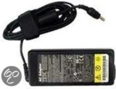 Zwarte Lenovo AC-Adapter 20V, 65W, 3-Pin Binnen 65W Zwart netvoeding & inverter