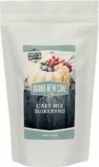 Witte BrandNewCake Cake-mix Suikervrij 400g